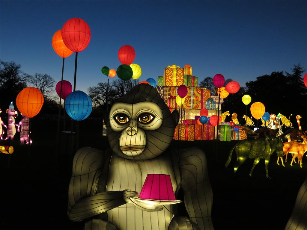 Visiting Longleat Festival of Light 2016