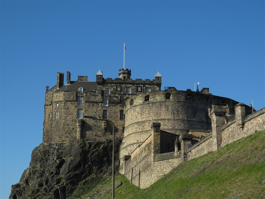 Visiting Edinburgh Castle, Scotland