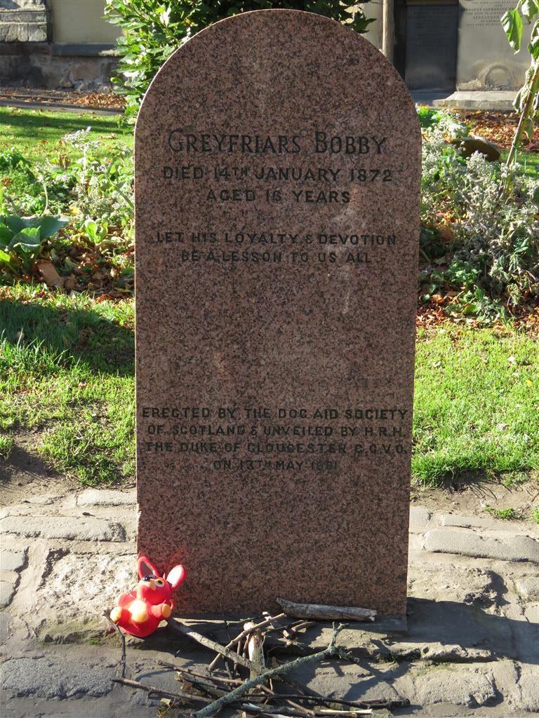 Greyfriars Bobby's Grave, Edinburgh