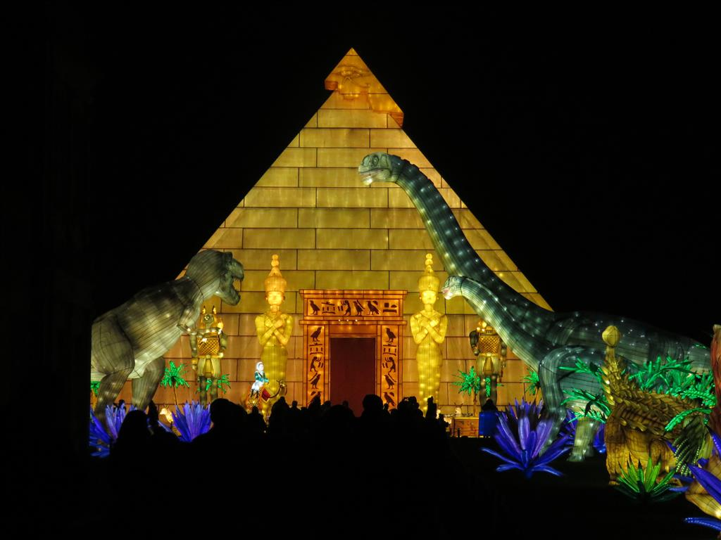 Visiting Longleat Festival of Light 2018