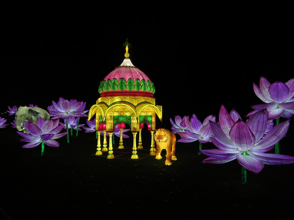 Visiting Longleat Festival of Light 2018