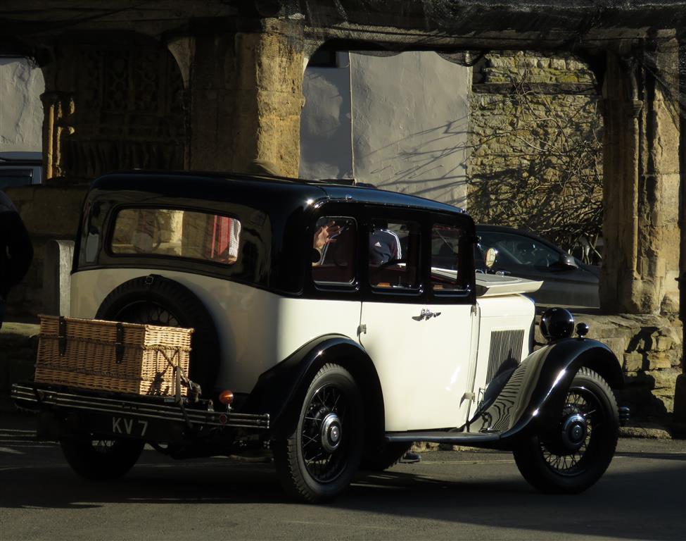 Vintage Car, Castle Combe, Wiltshire