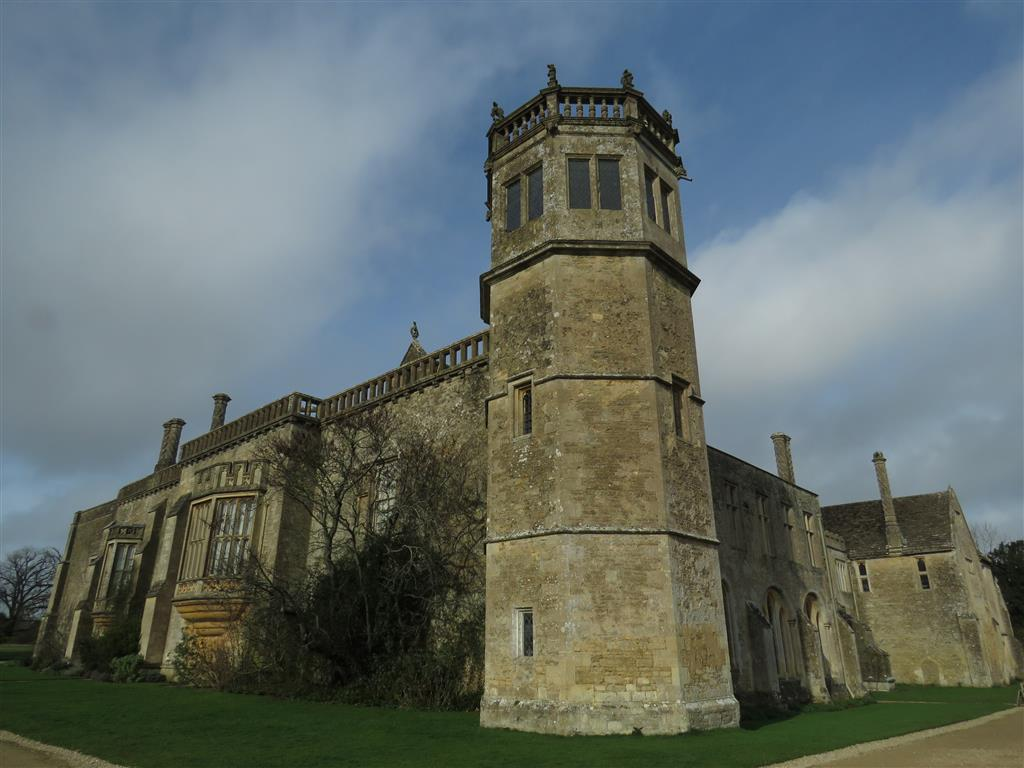 Visiting Lacock Abbey, Wiltshire