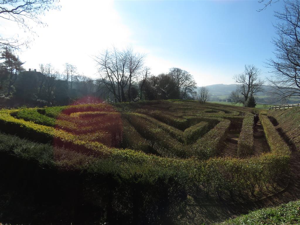 Maze, Painswick Rococo Garden