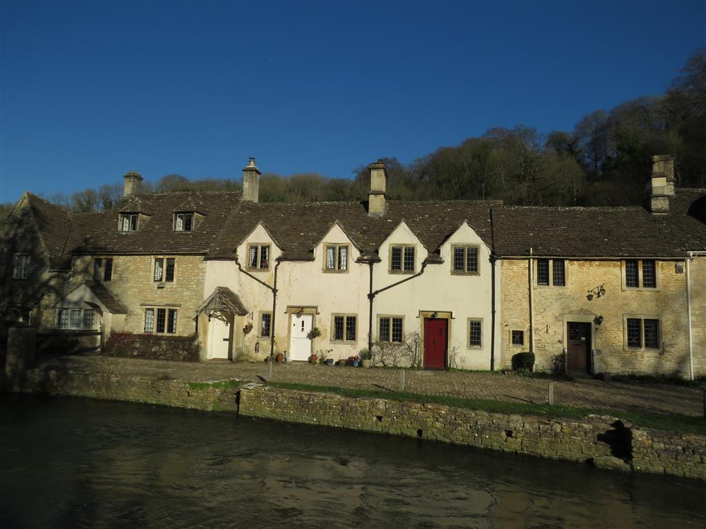 Weaver's Cottages, Castle Combe, Wiltshire