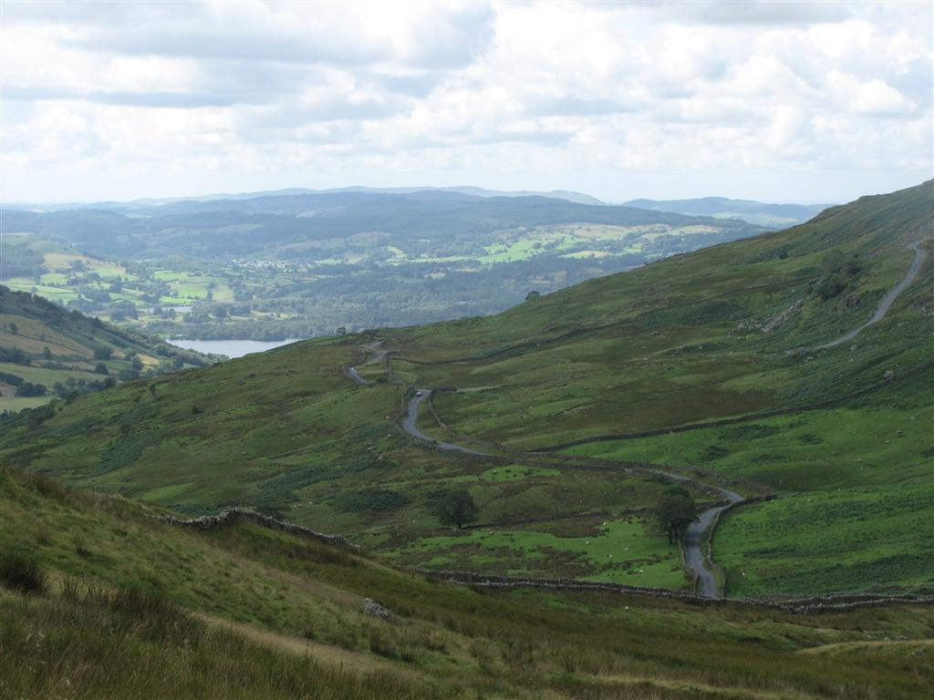 The stunning English countryside, Lake District