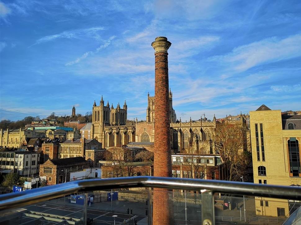 View from Bristol Ferris Wheel