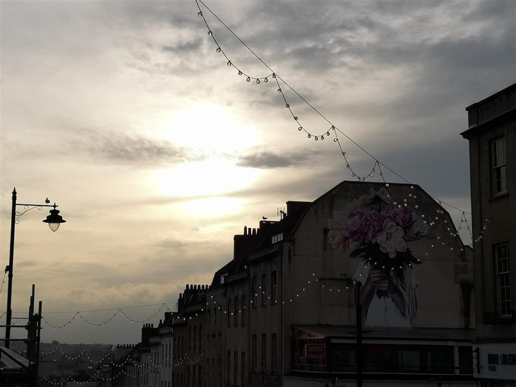 Park Street at sunrise, Bristol