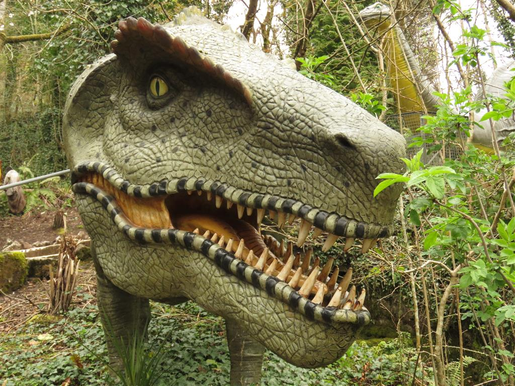 Dinosaurs at the National Showcaves Centre for Wales
