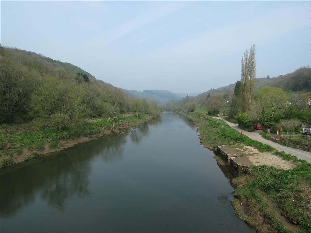 Visiting the Wye Valley, Wales