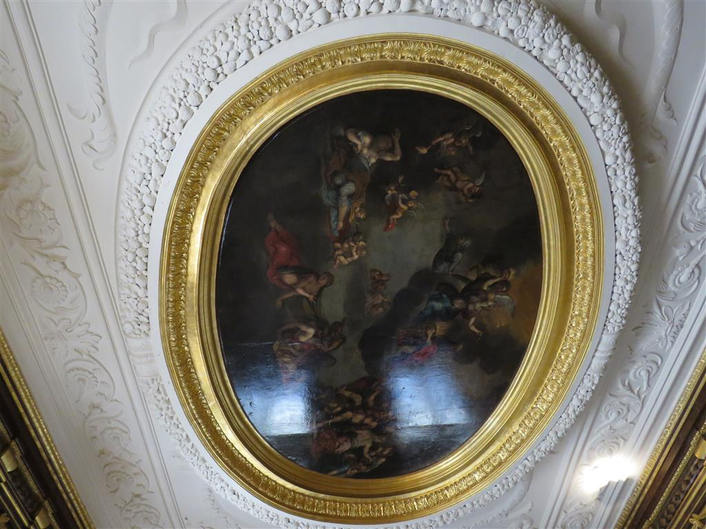 Elaborate decoration at Tredegar House, Wales