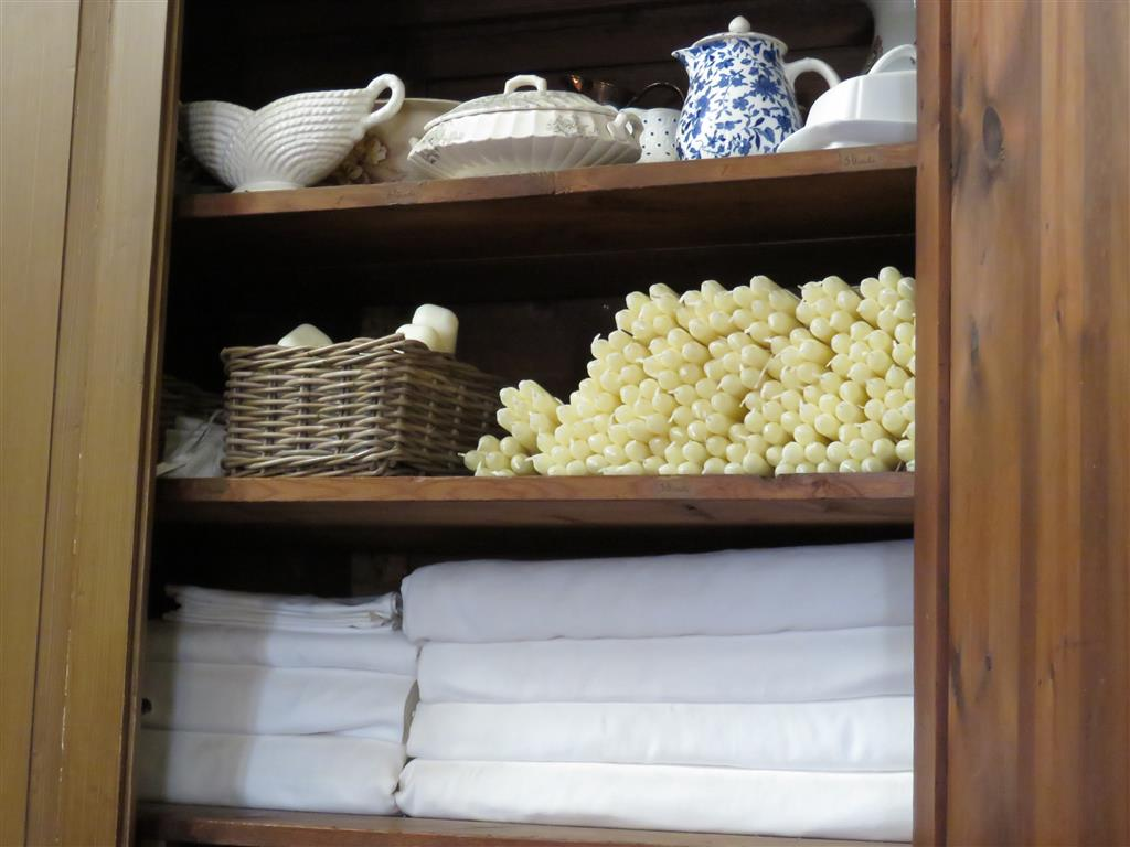 Household supplies at Tredegar House, Wales