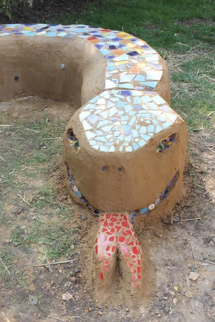 Hampstead Norreys Eco Bricks Sammy Bench