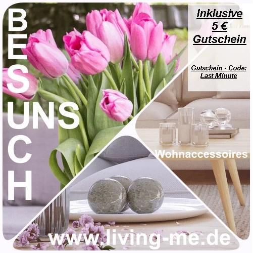 Living-me 5€ Gutschein