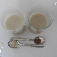[:de]Leinsamen-Gel und Hafermilch[:fr]Gel de lin et lait d'avoine[:]