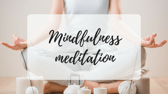 Mindfulness meditation, miss mental