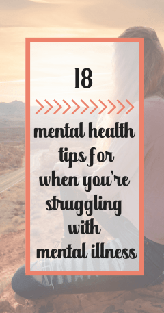 mental health tips for living with a mental illness or stress, Improve your mental health. 18 tips for selfgrowth #mentalhealth #mentalillness