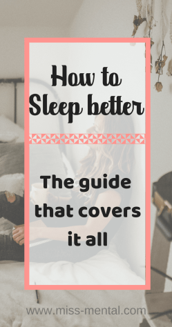 how to sleep better | improve sleep quality | deal with nightmares and other things that decrease sleep quality by miss mental | improve mental health miss mental #sleep #insomnia #mentalhealth