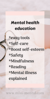 how to educate your child about mental health, mental health education, selfcare, boost self-esteem, mindfulness, educate about mental illness at miss mental #mentalhealth #mentalillness