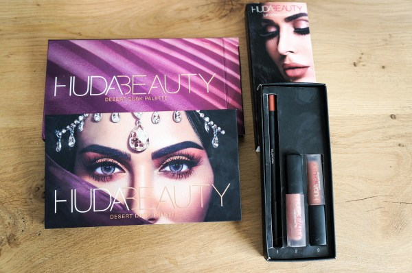 self-care routine and products huda beauty lipgloss and desert dusk palette | selfcare routine | beauty products | make-up