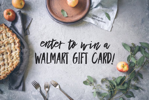 enter to win a walmart gift card #giveaway