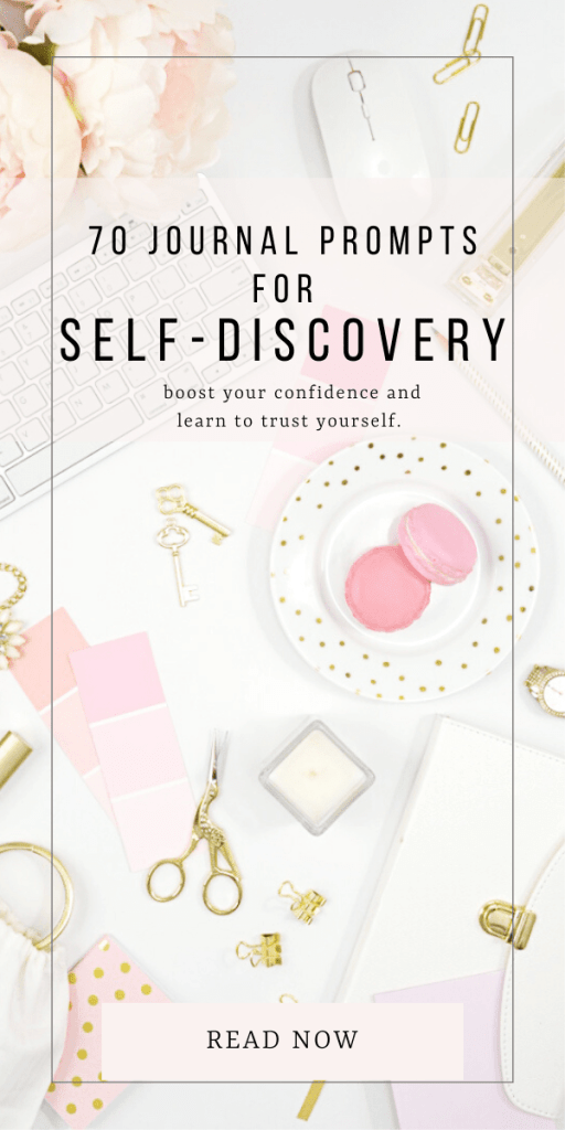 70 journal prompts for self-discovery. boost your confidence and learn to trust yourself. journal prompts are great to boost your self-esteem and become a better version of yourself. Self-help therapy. Journal prompts for women