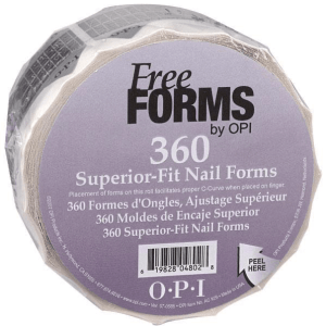 OPI SUPERIOR-FIT NAIL FORMS 360