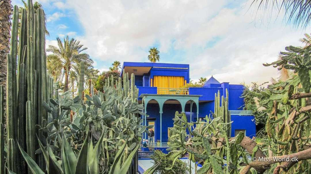 Yves Saint Laurent's Villa in Marrakech, Morocco