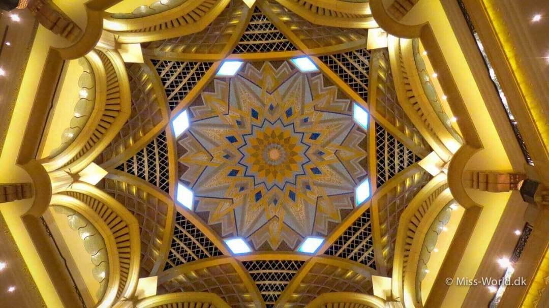Emirates Palace Hotel Abu Dhabi - Ceiling