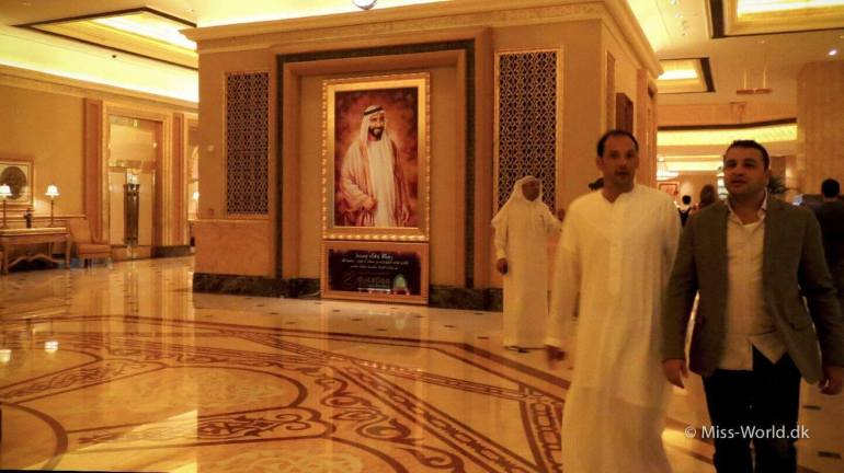 Emirates Palace Hotel Abu Dhabi - Hall