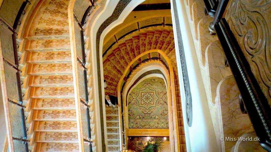 Stairways, Emirates Palace Hotel Abu Dhabi