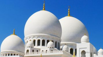 Sheikh Zayed Mosque Abu Dhabi - Domes
