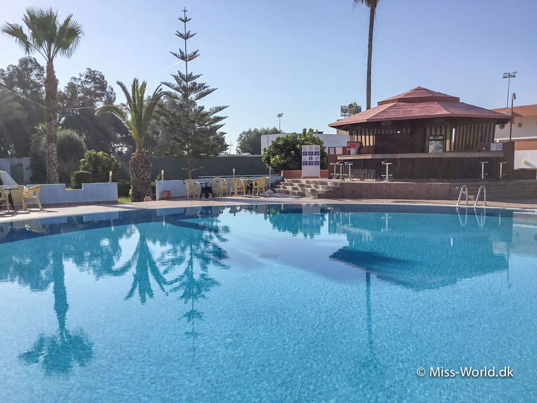 Hotel Almoggar, strandhotel i Agadir, Marokko
