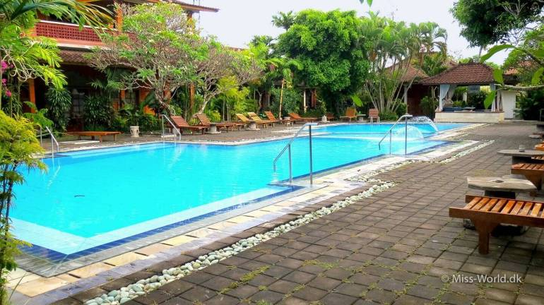 Bumi Ayu Bungalow Sanur, Bali - Pool view