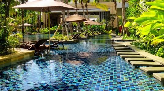 Hotel Swiss-Belresort Watu Jimbar Sanur Bali - Pool area