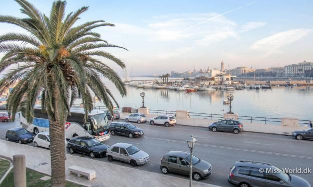 Syditaliensk charme i den gamle bydel i Bari