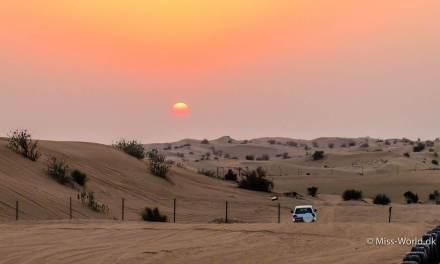 Ørkensafari med dune bashing i Dubai