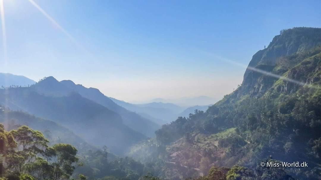 Ella Gap Sri Lanka The Hill Country