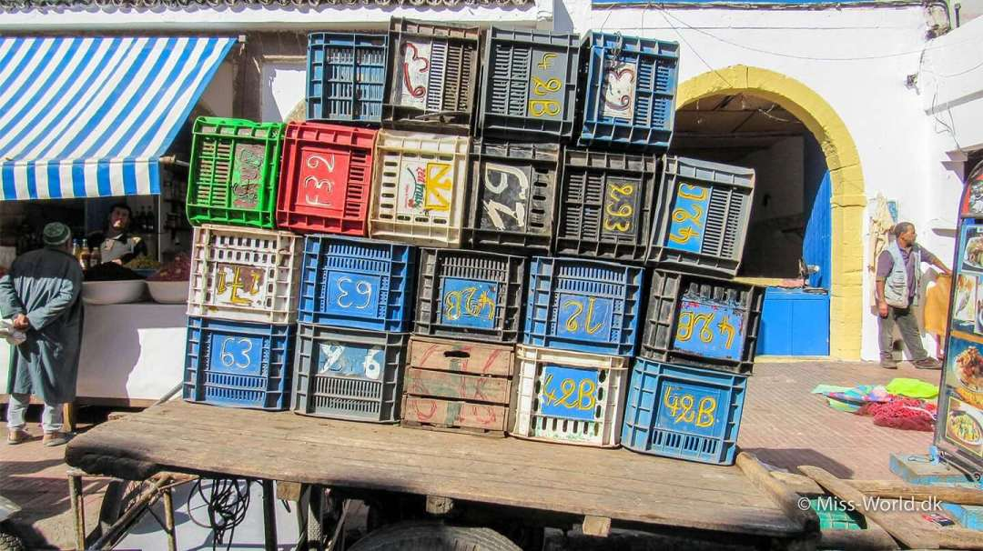 Essaouira Medina - Cart in the old town