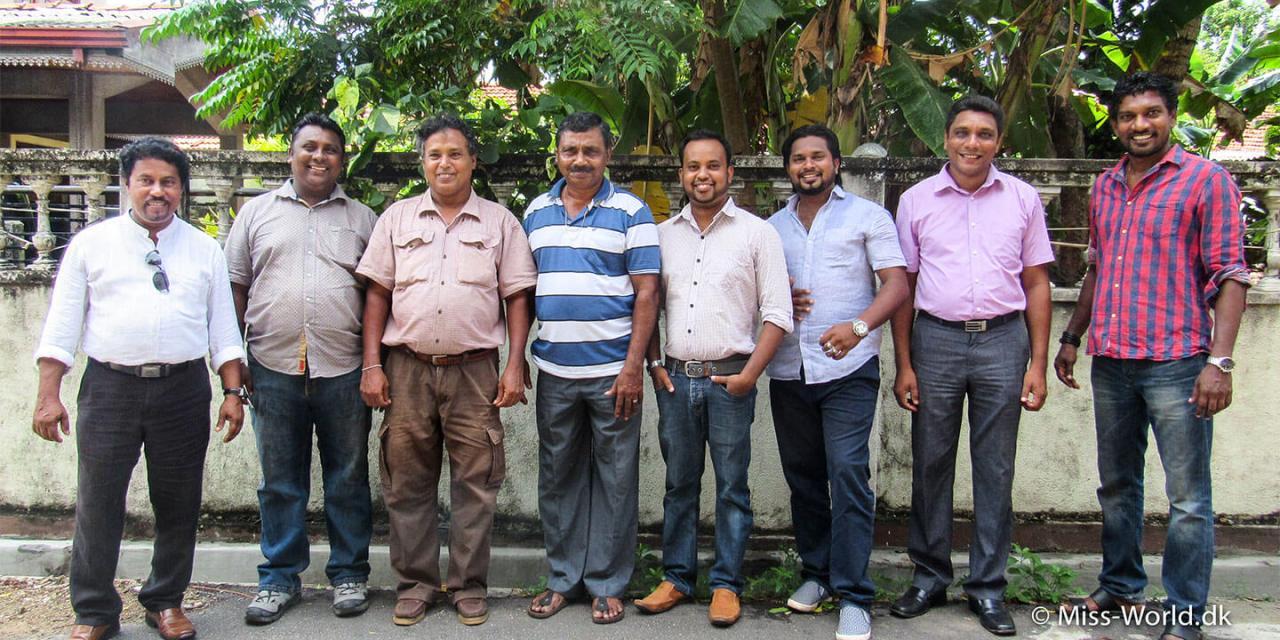 Privatchauffør i Sri Lanka