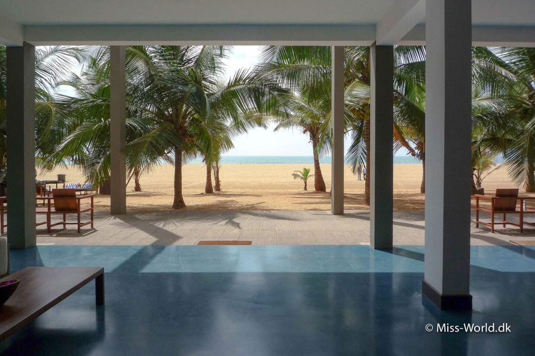 Hotel Jetwing Blue ved Negombo strand i Sri Lanka