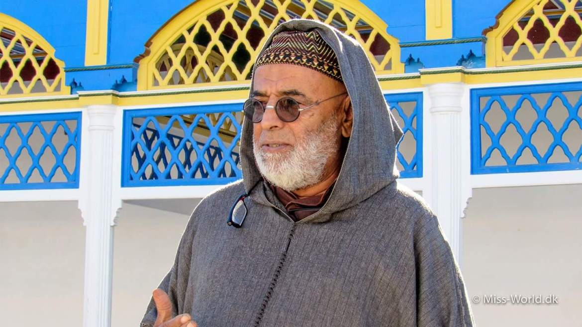 Our Local Tour Guide in Morocco - The charming Mohamed Chaaouane