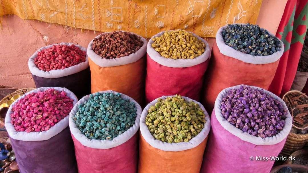 Medinaen er en eksplosion af farver og dufte