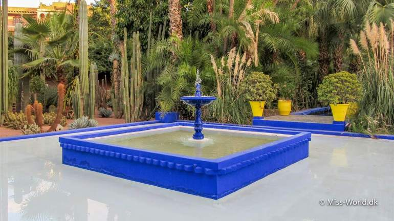 Marrakech Garden - Fountain
