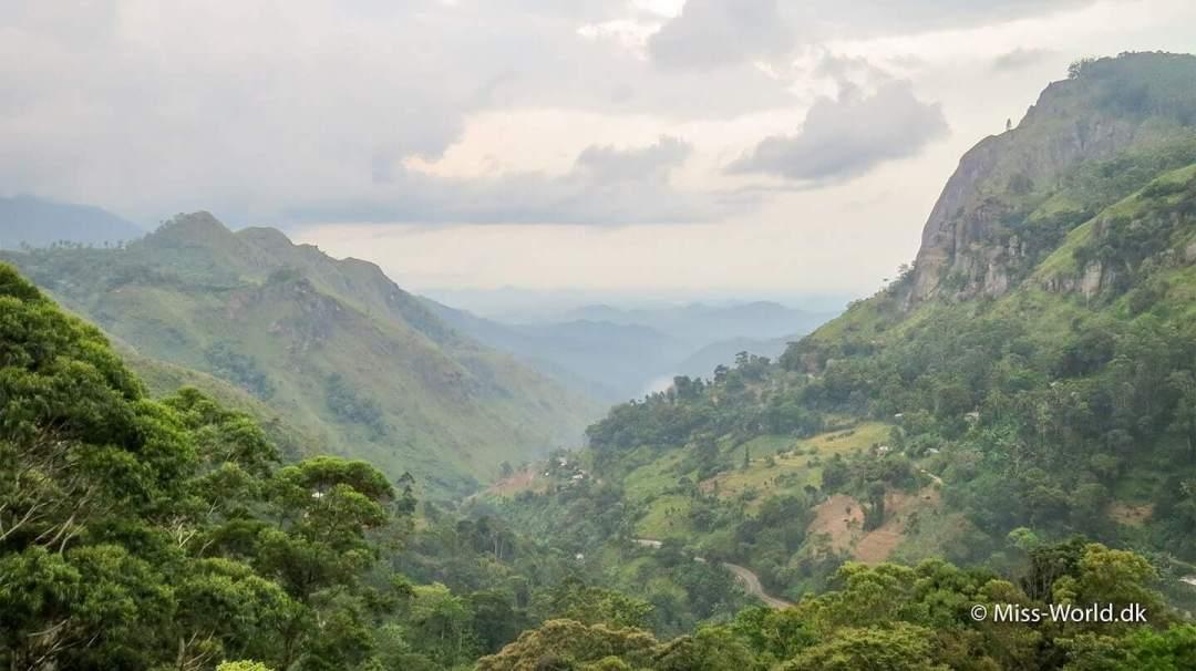 Misty Ella Gap Sri Lanka