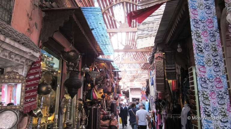 Sex and the City Hotspot in Marrakech