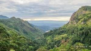 Ella Gap Sri Lanka - Udsigten til Ella Gap er måske det smukkeste sted i Ella.