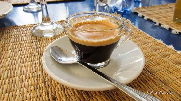 Taros Restaurant Essaouira Morocco Coffee