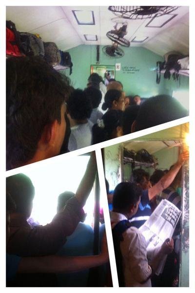 Tog i Sri Lanka 3. klasse