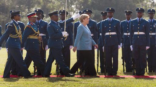 Angela Merkel in Kenia